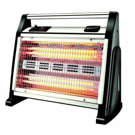 Radiator inox cu ventilator si umidificator 1600W Zilan ZLN-0337