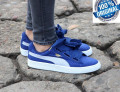 ADIDASI PUMA BASKET HEART DENIM  ORIGINALI 100%   din germania nr 36