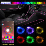 Fir Neon RGB cu Bluetooth