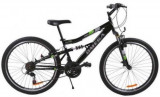 Bicicleta MTB Omega Magic, Roti 20inch (Negru)