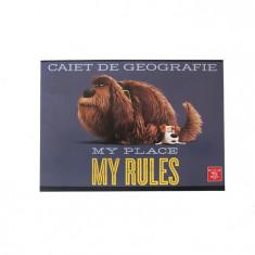 Caiet 24 file geografie Pigna Premium Pets