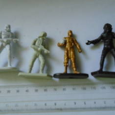 bnk jc Star Wars - lot 4 figurine de plastic