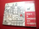 Carnet emis de RadioTeleviziunea Romana 1971- Vedete, Concurentii -Cerbul de Aur, Necirculata, Printata