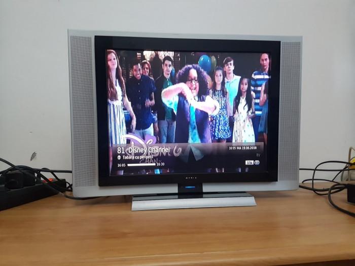 Tv LCD MYRIA 51 cm 20inch cu Telecomanda 2 x Euro scart Televizor 19