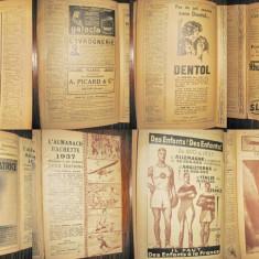Almanah Hachette 1937-Mica enciclopedie populara a vietii practice.