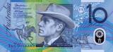 AUSTRALIA █ bancnota █ 10 Dollars █ 2008 █ P-58e █ UNC █ necirculata █ polymer