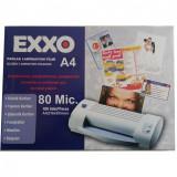 Set 100 folii pentru laminat A4 de 80 microni, Exxo