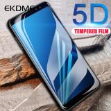 Folie sticla securizata 5D FULL GLUE pentru Samsung J5 2017 , J6 , J7 2017