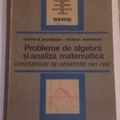 PROBLEME DE ALGEBRA SI ANALIZA MATEMATICA - ADMITERE FACULTATE 1981-1990.