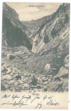 3508 - SINAIA, Romania, mountain Valea Cerbului - old postcard - used - 1904, Circulata, Printata
