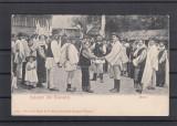 SALUTARI DIN ROMANIA HORA COSTUME POPULARE MUZICANTI CLASICA, Necirculata, Printata