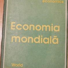 Economia mondiala Coordonator Sterian Dumitrescu