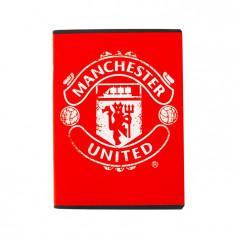 Caiet A5 80 file matematica Pigna Premium Manchester United