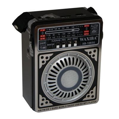 Radio MP3 portabil Waxiba XB-1083U, suport card SD/USB foto
