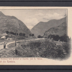 SALUTARI DIN ROMANIA  POSITIUNE INTRE BIVOLARI SI SIPOTILE  JUD.R.VALCEA CLASICA, Necirculata, Printata, Ramnicu Valcea