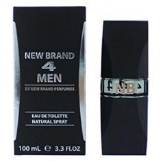 Parfum New Brand 4 Men 100ml EDT, Apa de toaleta, 100 ml