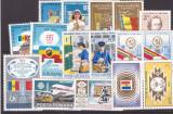 Romania 1982-1983 - Lot timbre neuzate