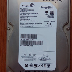 Hard disk Seagate Barracuda 250 GB, 200-499 GB, 7200, SATA2