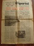 """Ziarul  """"Sportul """" -18 decembrie  1982"""