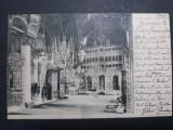 BUCURESTI - BUCURESCI - MITROPOLIA - ANUL 1901 - CIRCULATA BUCURESTI - BRASOV, Fotografie