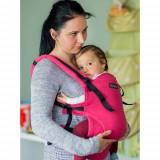 Marsupiu Isara Baby Full Wrap Conversion Zmeura