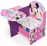 Scaun multifunctional din lemn Disney Minnie Mouse, Delta Children
