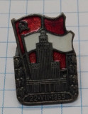 Insigna Polonia 1955 - Palatul Stalin