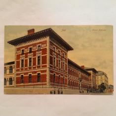 IASI-LICEUL NATIONAL-CARTE POSTALA ANII 1910, Circulata, Printata
