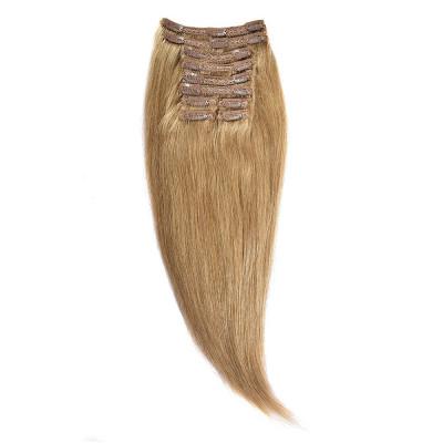 Clip-On Par Natural MegaVolum 50cm 240gr Blond Miere #27 foto