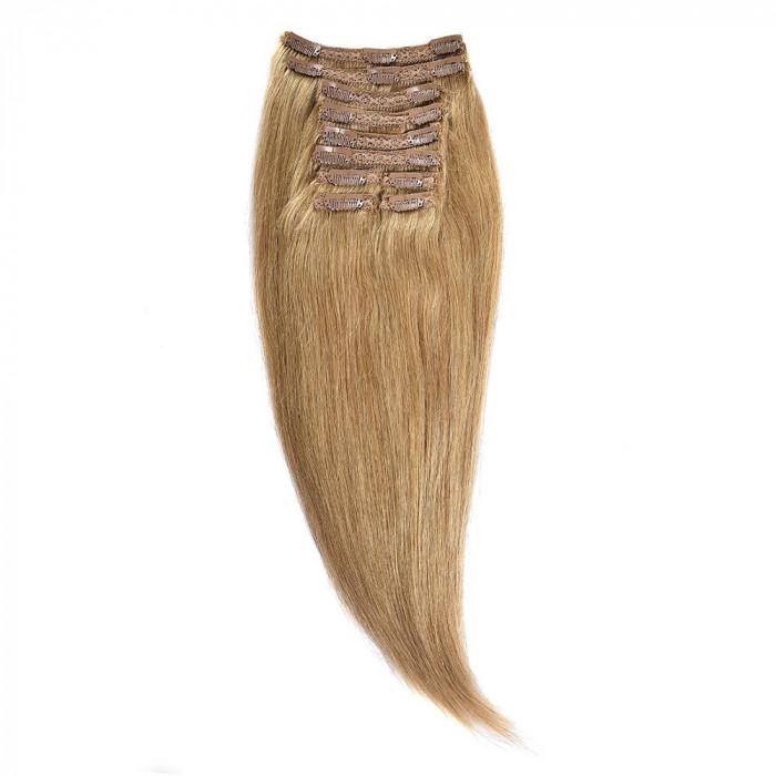 Clip-On Par Natural MegaVolum 50cm 240gr Blond Miere #27