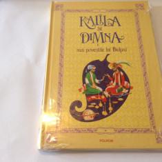 KALILA SI DIMNA sau POVESTILE LUI BIDPAI { Polirom, 2010 }-R3