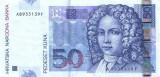 CROATIA █ bancnota █ 50 Kuna █ 2002 █ P-40a █ UNC █ necirculate