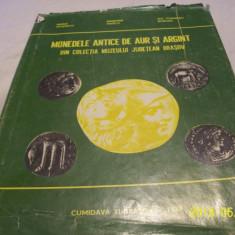 Monedele antice de aur si arg. din colectia muzeului jud. brasov-1978