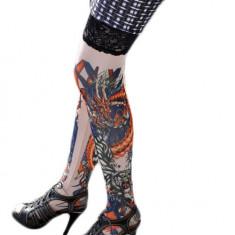 STK13 Ciorapi cu tatuaj