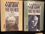 ANDREI SAHAROV - MEMORII volumul 1 si 2,EDITURA LITERA ,1996