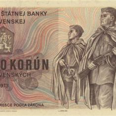 CEHOSLOVACIA █ bancnota █ 500 Korun █ 1973 █ P-93 █ UNC █ necirculata