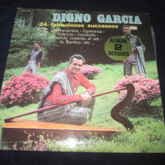Digno Garcia - 24 Faboulosos Successos _ dublu vinyl,2 x LP_ Disques Festival, VINIL