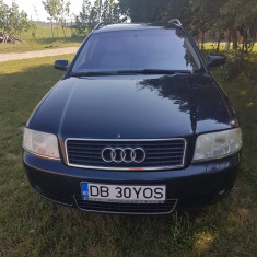 Vand Audi A6 Quatro,pe full,motor 2,5litrii pe motorina,180cp, Motorina/Diesel, Break