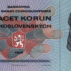 CEHOSLOVACIA █ bancnota █ 20 Korun █ 1970 █ P-92 █ UNC █ necirculata