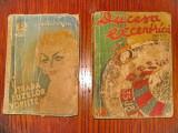 2 Romane politiste vechi incomplete-Colectia 15 si 12 lei.