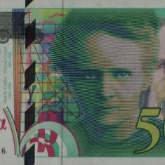 FRANTA █ bancnota █ 500 Francs █ 1998 █ P-160c █ UNC █ necirculata