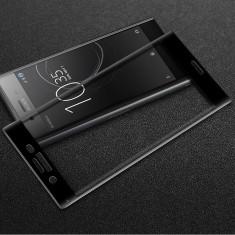 Folie Sticla Curbata 3D / Full Glass Sony Xperia XA1 / XA2 / XZ2 / XZ2 Premium