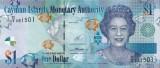 INSULELE CAYMAN █ bancnota █ 1 Dollar █ 2014 █ P-38e █ UNC █ necirculata