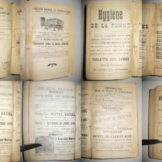 Paris-Ghid Hachette 1907-1908 cu multe reclame-Guides Joanne.