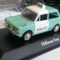 Macheta Hillman Imp 1971 Politia UK - noua, Atlas 1/43