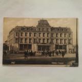 IASI- HOTELUL TRAIAN-CARTE POSTALA CIRCULATA LA 1926, Printata