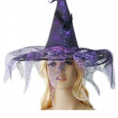 T87 Accesoriu Halloween palarie de vrajitoare