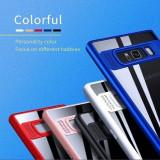 Husa silicon antisoc cu protectie camera Samsung Galaxy J3 2016 /  J5 2016 / J7, Alt model telefon Samsung, Albastru, Negru, Rosu, Roz