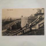 IASI- RAPA GALBENA-CARTE POSTALA CIRCULATA LA 1908, Printata