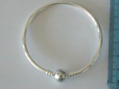 Bratara Pandora din argint autentica -590713-17cm foto